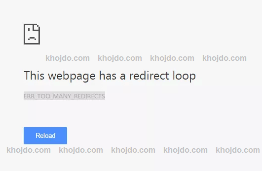 How to resolve ERR_TOO_MANY_REDIRECTS Error in WordPress?