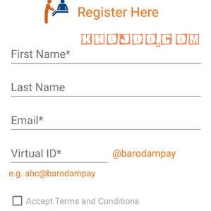 Register baroda mpay