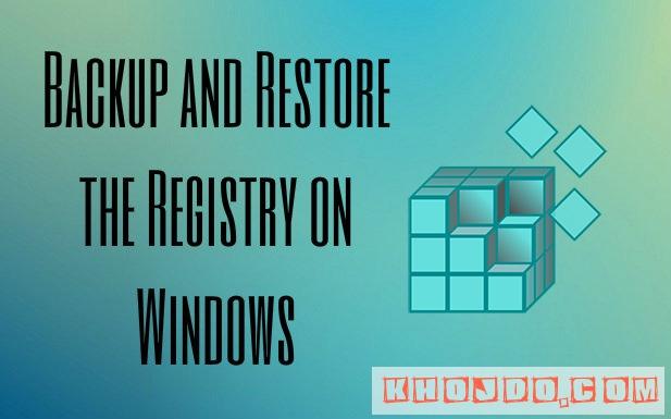 Better Registry Backups - best ways to back up your Registry in windows 8