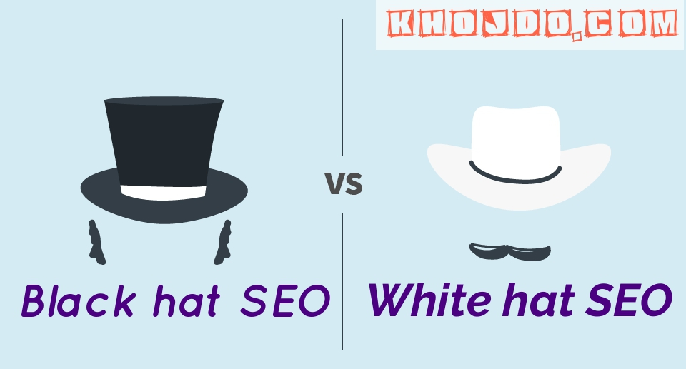 Understanding in detail: Black hat SEO vs. White hat SEO