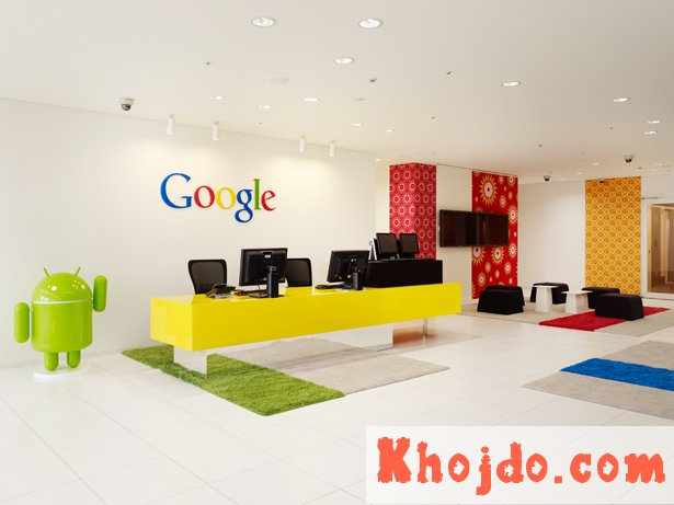 google head office and google company branches in india contact details