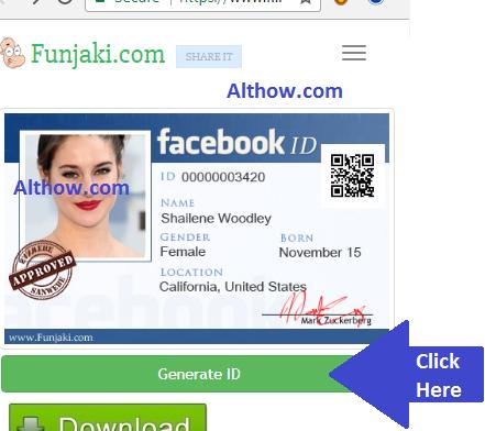 How to Create Facebook ID Card [fb id card]