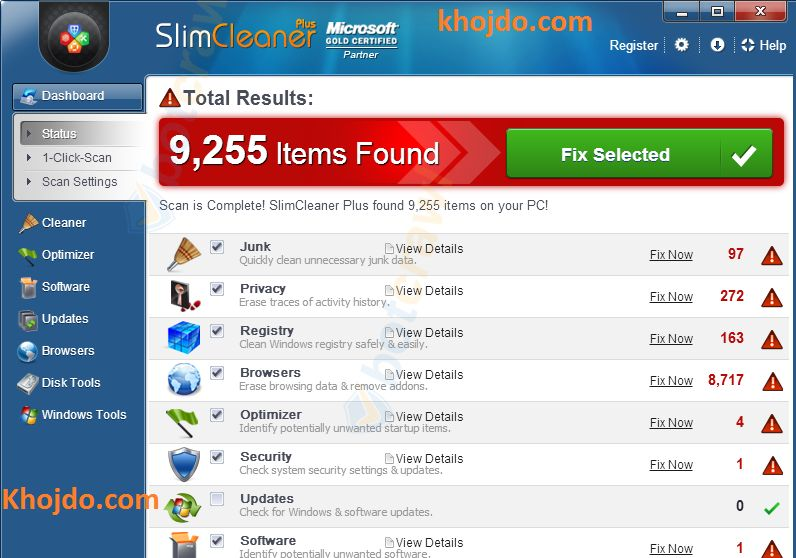 How to (remove) uninstall slimcleaner plus