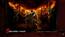GEARS OF WAR - Cool Windows 10 themes for Gamers