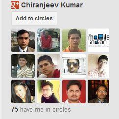 Add Google+ Follower Widget