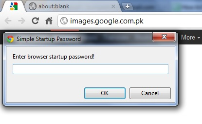 Simple Start Up Password