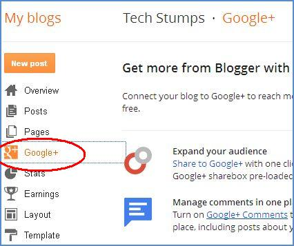 add google plus comments in blogger