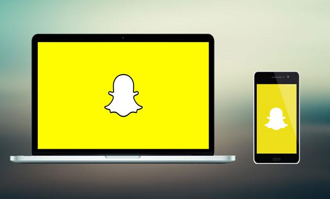 use snapchat on computer