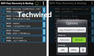 view wifi passwords