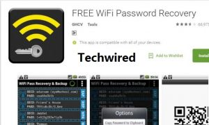 View saved wifi passwords on android