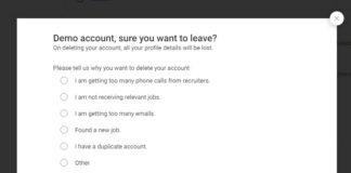 delete naukri account