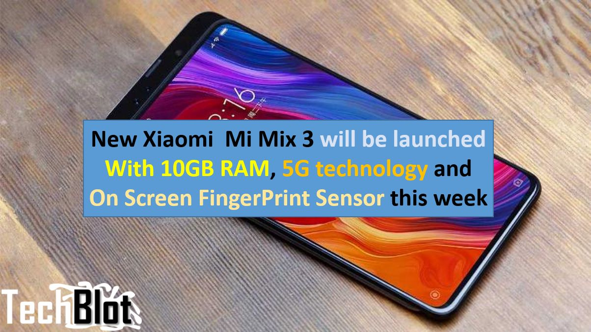 Xiaomi Mi Mix 3 (5G) with 10GB RAM